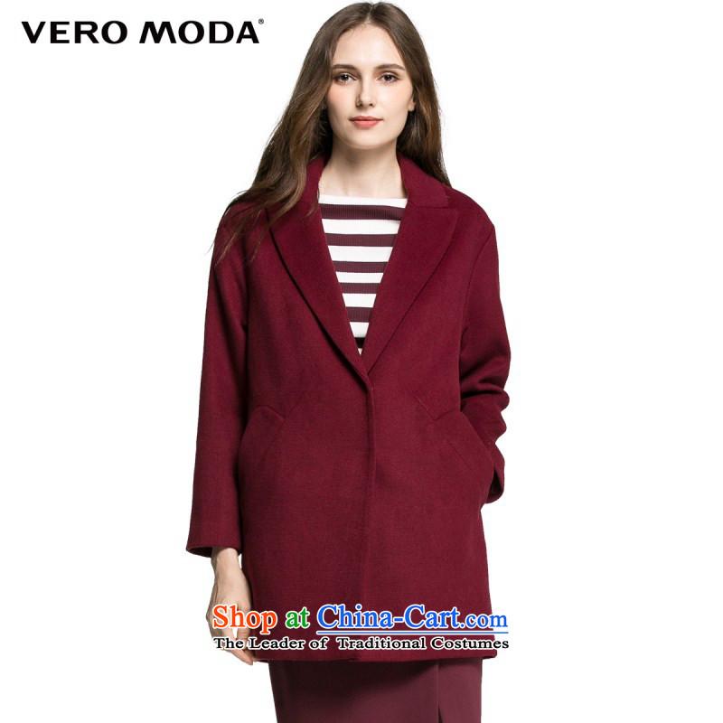 Vero modaol suits, woolen coat |315327010170_88A_L Crimson Red 073