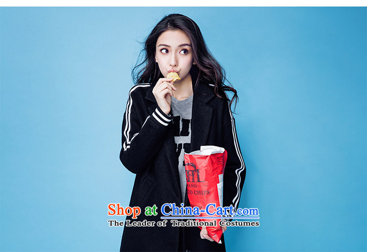 The elections of the same as yi angelababy products Tian Cheng聽2015 winter new women's gross jacket Korean? lapel long coats of black聽155 pictures?, prices, brand platters! The elections are supplied in the national character of distribution, so action, buy now enjoy more preferential! As soon as possible.