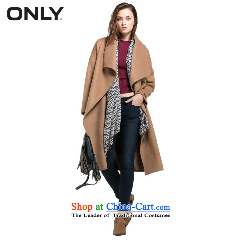 Load New autumn ONLY2015 included large roll collar relaxd woolen plush coat women in this deep and160_80A_S L|11536U007 132