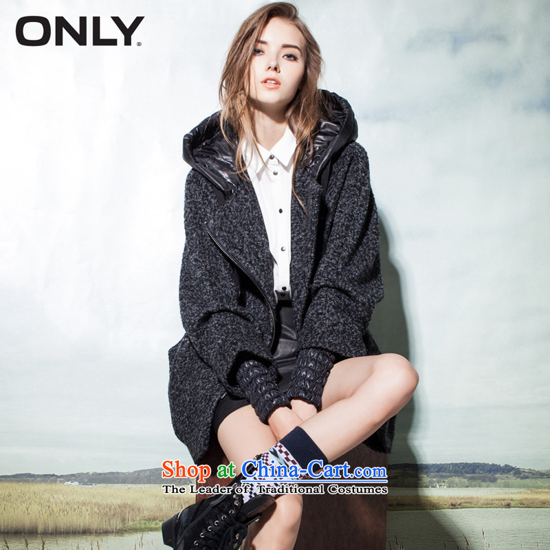 Load New autumn ONLY2015 included wool plaid cap in loose coat female T|11536t010 long hairs? 104 light gray  155_76A_XS flower