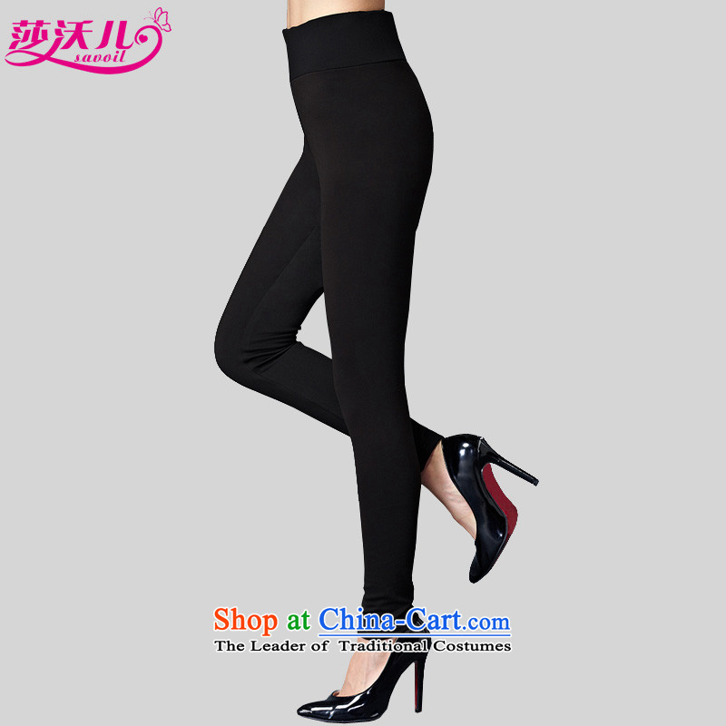 Elisabeth Kosovo-Large 2015 Women's autumn and winter new thick milk silk, forming the basis of trousers Stretch video thin stylish wild leisure pencil trousers trousers�12燘lack燣爎ecommendations catty pp. 85-100.