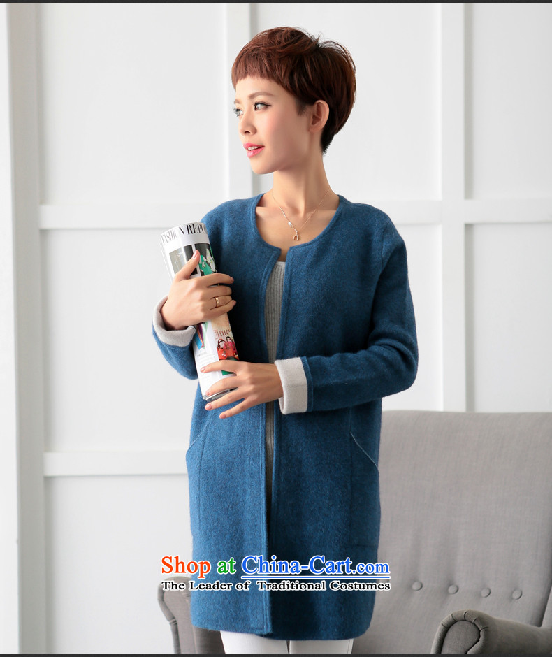 Lint-free 歆 Workshop 2015 autumn and winter double-side woolen coat new gross? a Korean female jacket version of the REDM picture, prices, brand platters! The elections are supplied in the national character of distribution, so action, buy now enjoy more preferential! As soon as possible.