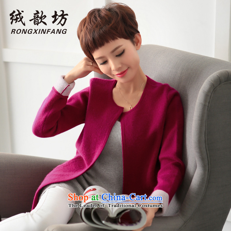 Lint-free ? Workshop 2015 autumn and winter double-side woolen coat new gross? a Korean female jacket version of the REDM