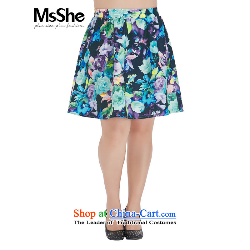 Msshe xl women 2015 new autumn replacing thick sister elastic band waist A skirt skirt short skirt Traffic fatalities decreased last year despite an increase body suit?5XL