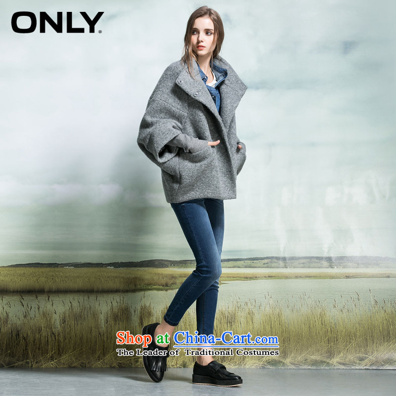 Load New autumn ONLY2015 included loose in the thick wool plush coat female T|11536t005? Spend 106 gray 175_92A_XL