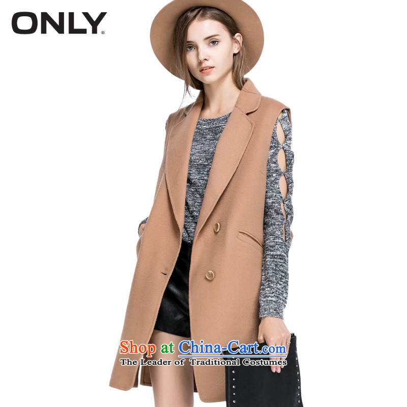 Load New autumn ONLY2015 included long suit ma folder wool gross coats female E|11534s010? And color 175/92A/XL 130