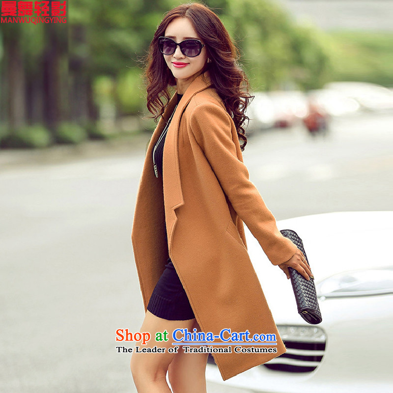 Dancing Light Shadow gross? 2015 autumn and winter coats Women For Women Korean female jacket coat gross? 1011 and color L