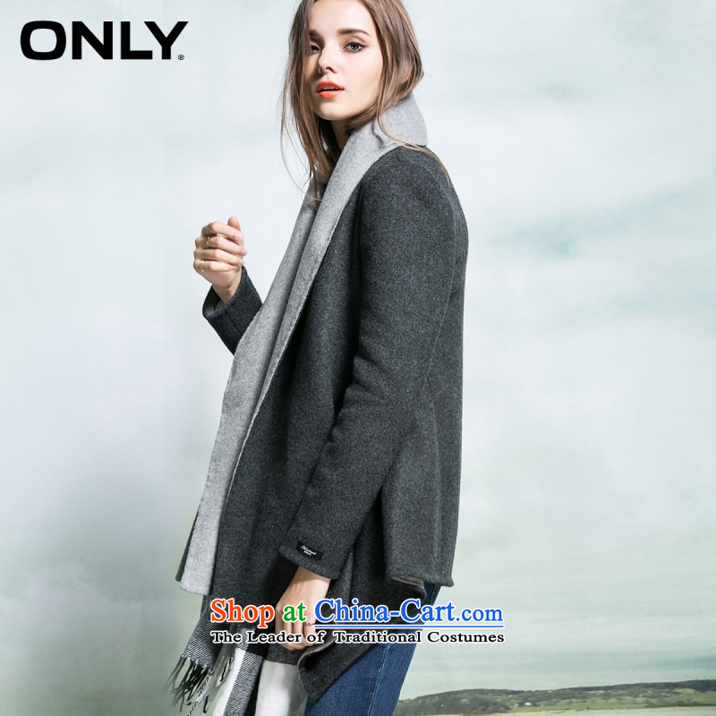 Load New autumn ONLY2015 included wool hand lapel coats female L|11536t011 gross? 104 light gray聽160_80A_S flower