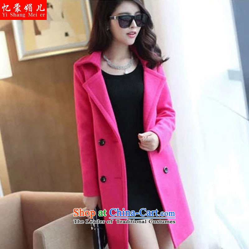 The Advisory Committee recalls that the medicines and gross? coats female 2015 Fall_Winter Collections in the womens long hair? female Korean jacket coat girls a wool coat YS3150 female red in the?L