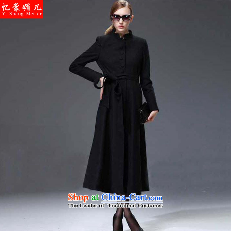 The Advisory Committee recalls that a non-cashmere cloak of female hair? female 2015 autumn and winter coats with new long coats jacket women? gross upscale a wool coat female windbreaker female black?L