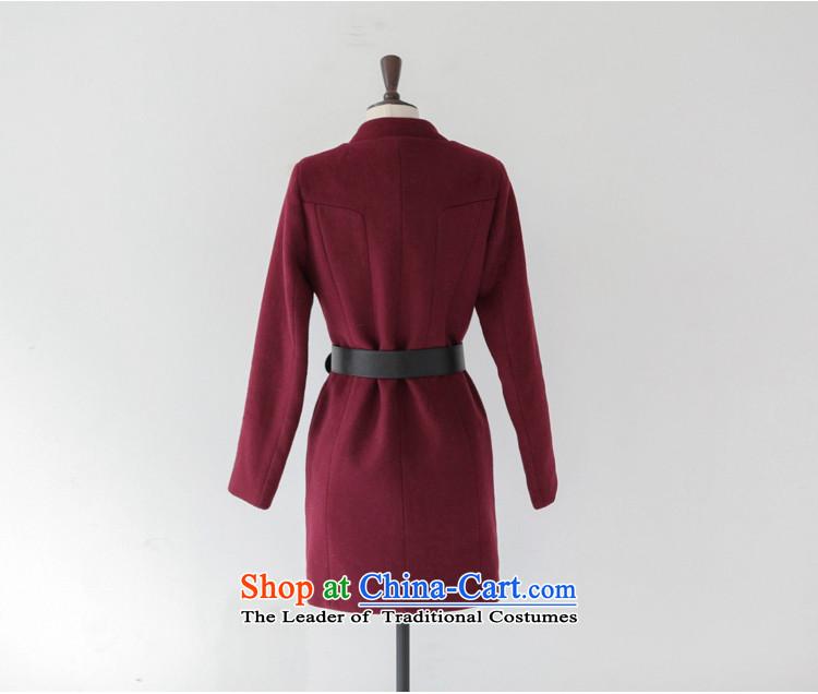 成人�9��y�dynl�yi*�i*�)�h�_larger version in korea sau san long wool coat jacket female dyn