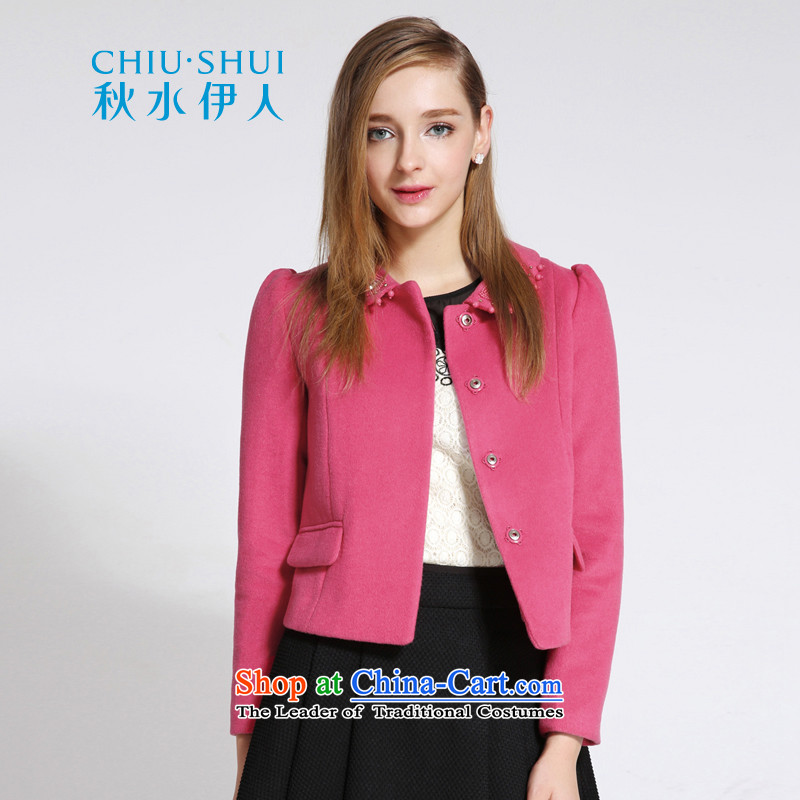 Chaplain who 2015 winter clothing decorated new women's body graphics for coats doll thin hair? jacket plum 155_80A_S..