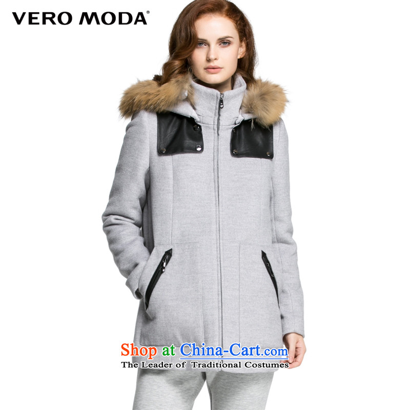Vero moda fashionable individual design of the Commonwealth Model with wool fabrics coats |315327022 104 light gray 175_92A_XL flower