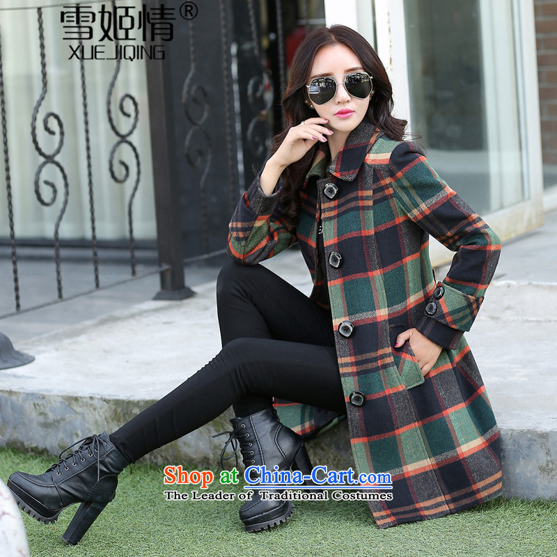Michelle Gellar of�15 Fall_Winter Collections new stylish bars gross? large jacket coat female jackets elegance Sleek and versatile graphics thin picture color Sau San燲L