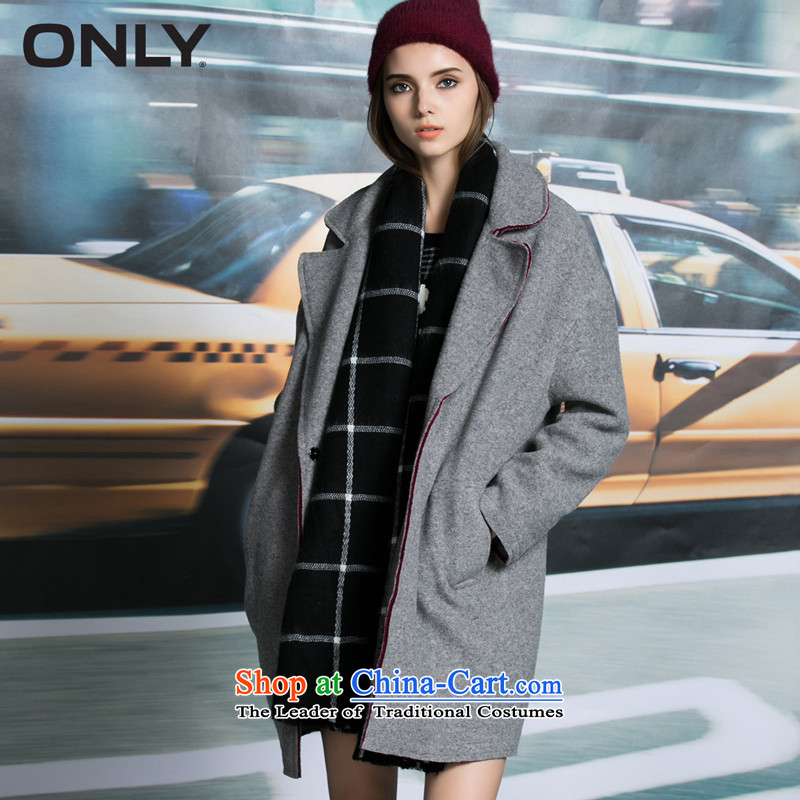 Load New autumn ONLY2015 included wool spell fell in shoulder relaxd color plush coat female L|11534s011? 104 light gray�0_80A_S flower
