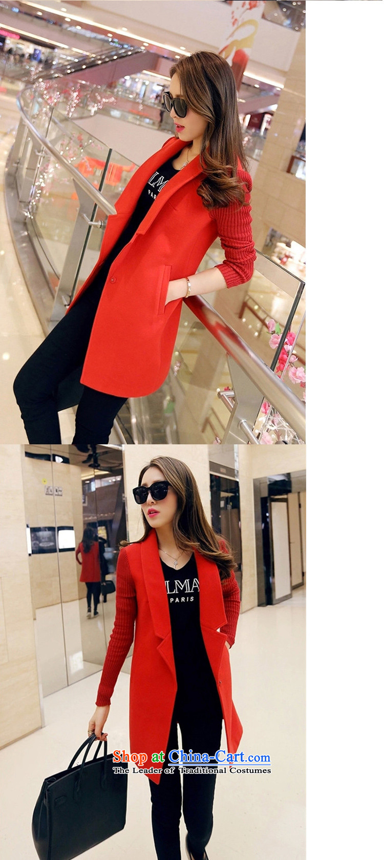 Yu Chien YQ 2015 autumn and winter new Korean fashion Sau San Mao jacket girl in long?)? a wool coat female Y232 GRAY聽M picture, prices, brand platters! The elections are supplied in the national character of distribution, so action, buy now enjoy more preferential! As soon as possible.