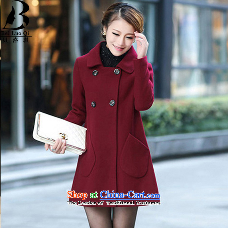 Wool coat girl child?? for gross? coats dolls female need pocket female jackets for autumn and winter by double-winter coats female chestnut horses燤