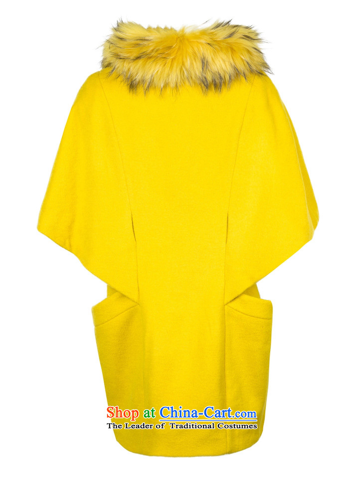 Only replace with new autumn wool cocoon-linked child for Gross Gross cloak coats female? L|11434S017 155/76A/XS egg shell color photo 02A, prices, brand platters! The elections are supplied in the national character of distribution, so action, buy now enjoy more preferential! As soon as possible.