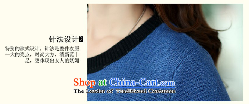 Gangnam-gu 2015 Autumn replacing Europe taste for larger women to increase long-sleeved round-neck collar in MM thick long Sleek and versatile sweater wine red 3XL recommendations 160-180 catty picture, prices, brand platters! The elections are supplied in the national character of distribution, so action, buy now enjoy more preferential! As soon as possible.