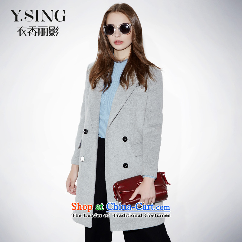 [i] to buy three from Hong Lai Ying 2015 winter clothing new temperament graphics with a straight suit for thin hair? a gray jacket girl S (21)