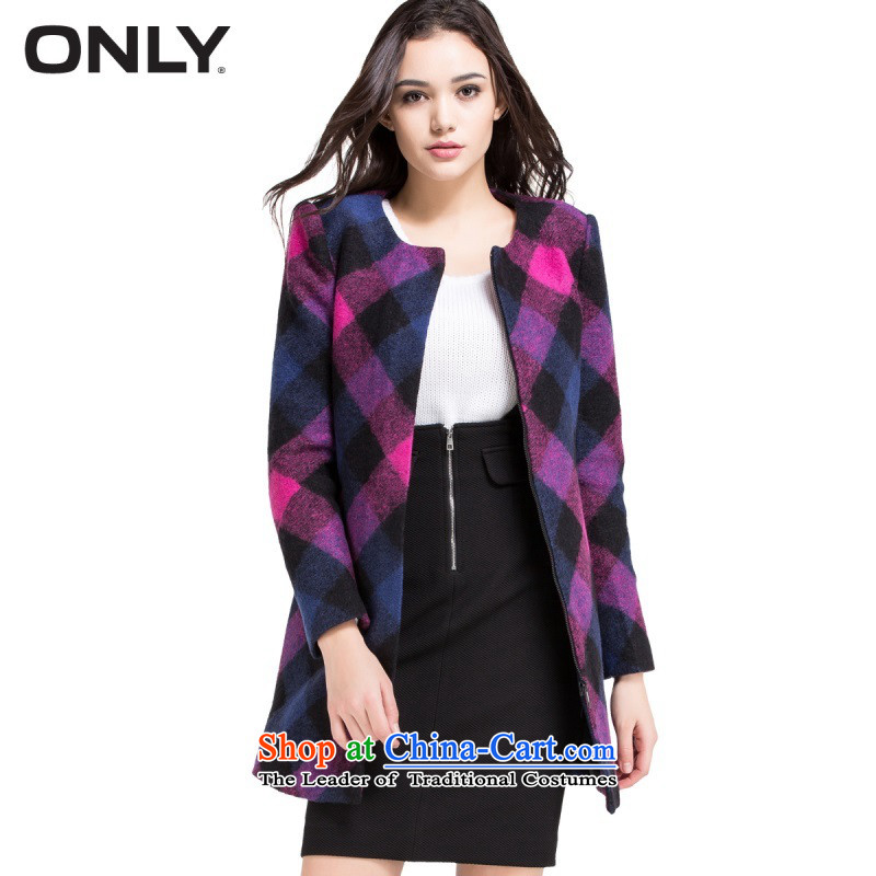 Only replace with new products fall of bars in long wool gross Sau San? T|11434S010 female 095 light coats berry purple165/84A/M