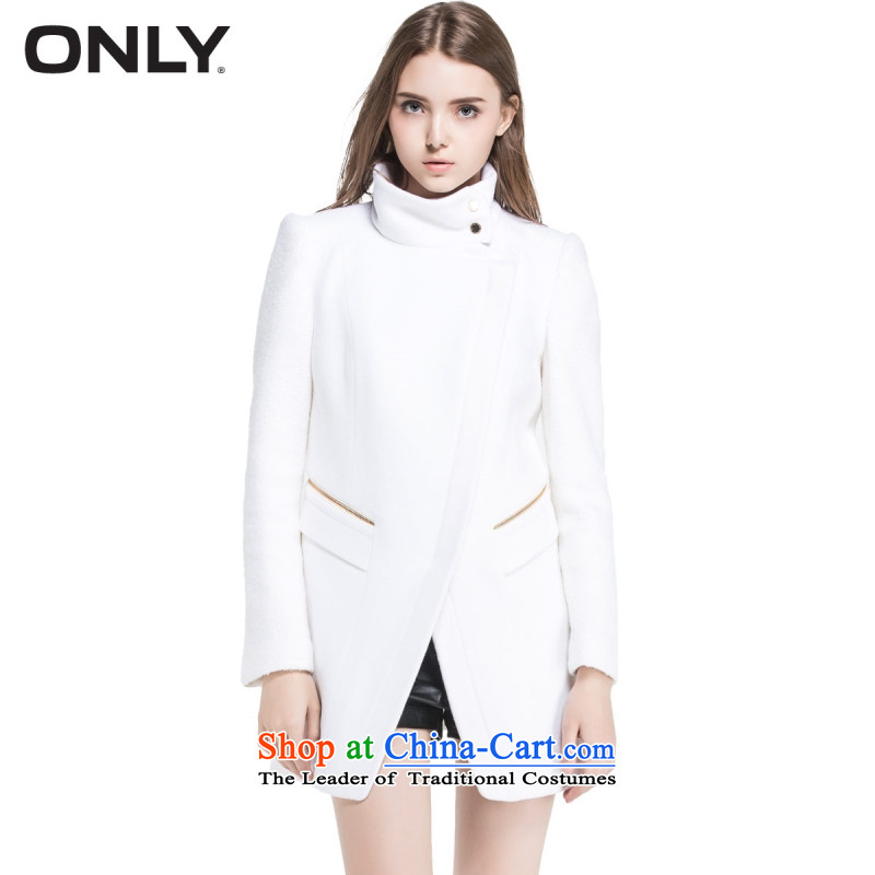 Only replace with new products fall wool collar in Sau San gross? coats long jacket T|11434s018 female white�5_84A_M 020