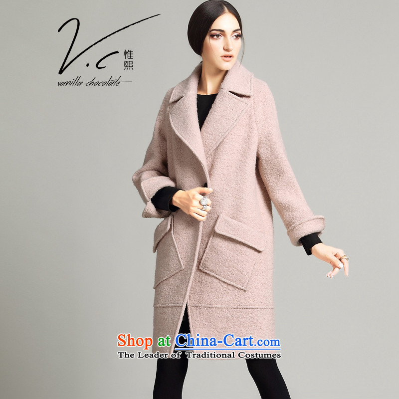 Korehiro Western women V.C long coats gross? the new winter 2015 female loose wool a wool coat thickness toner all燬