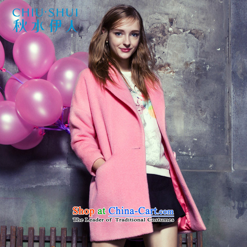 _pre-sale爋f shipment - Swordmakers 12.10 Mai-mai 2015 Fall_Winter Collections Of new women's Korea Version The auricle-jacket girl?? gross sub-coats peach�5_80A_S. pre-sale on 10 December Shipment