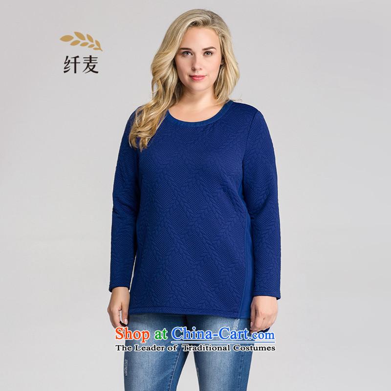 The former Yugoslavia Mak Yugoslavia Migdal Code women 2015 winter clothing new stylish mm thick stitching Long-sleeve954365376blue4XL