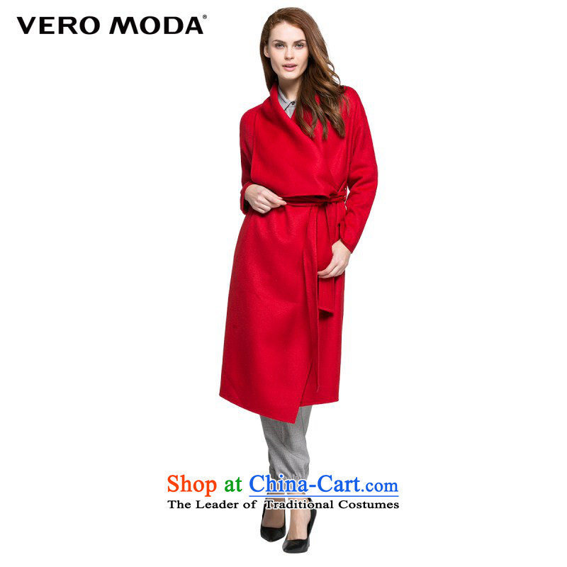 Vero moda autumn and winter new products lapel tether |315427007 gross? The Scarlet 165_84A_M coat 077