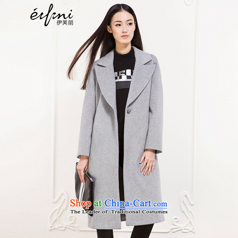 Of the Winter 2015 Lai new long hair? a grain of detained coats jacket female 6581037306 soot M