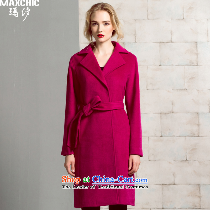 The elections of the same health maxchic stars Marguerite Hsichih autumn and winter clothing for women is the bag of wrapped in a long, long-sleeved-wool coat female 19962? The Purple燤