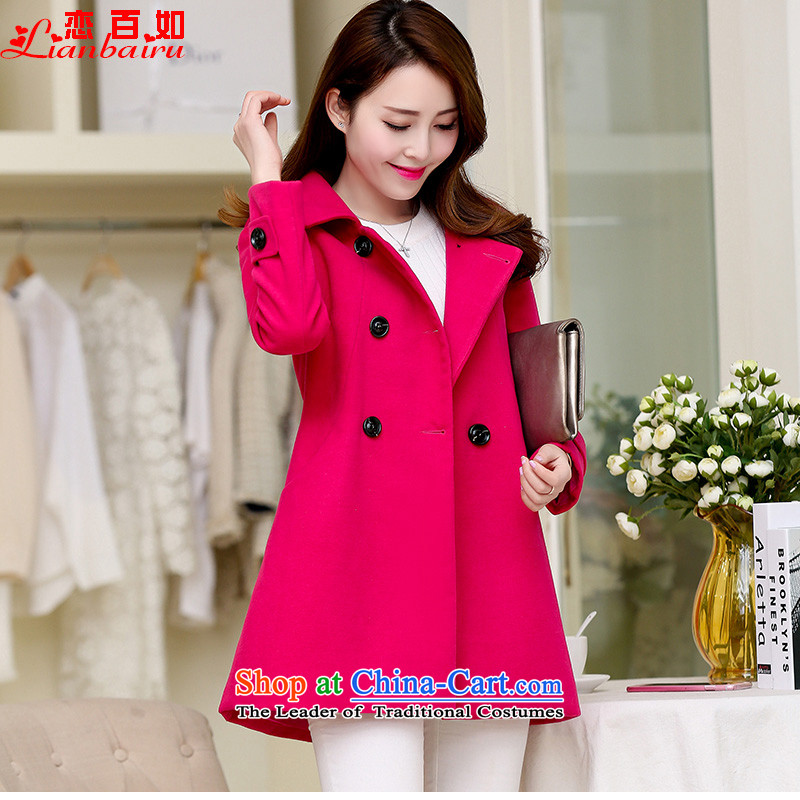 If you love women 2015 winter clothing on a new stylish coat female hair?? coats Korean cloak of winter coats_? sub loose video thin爎ed in the 888燣