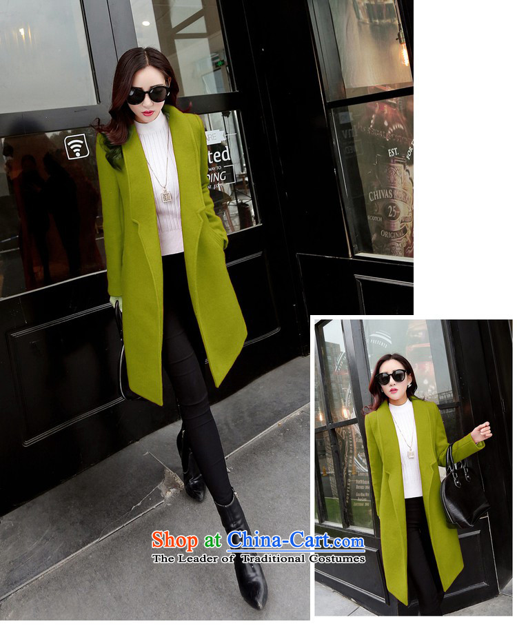 Noras ding a wool coat women 2015 autumn and winter new Korean female jacket is thick wool over the medium to longer term, Sau San video minimalist thin gray聽M picture, prices, brand platters! The elections are supplied in the national character of distribution, so action, buy now enjoy more preferential! As soon as possible.