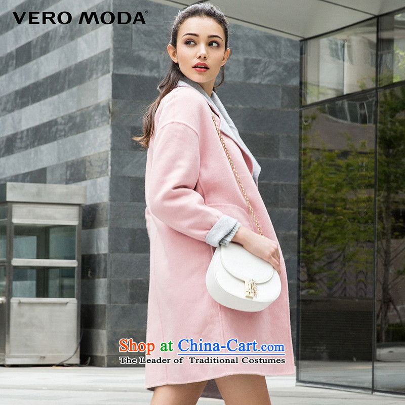 Vero moda Western wind and reverse collar rotator cuff falls through both positive and negative side marker-coats |315427001 gross? 104 light gray 160_80A_S flower