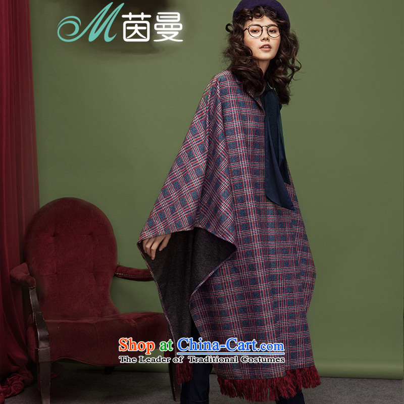 The Goddess of Mercy with new El Athena Cayman tartan jacket edging swing long coats _8533210600_?- color grid M