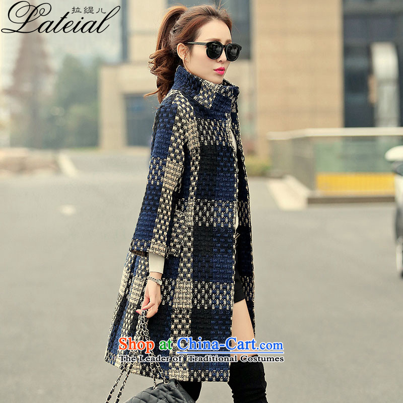 Pull economy- 2015 autumn and winter new women's winter coats female hair)?? Korean jacket in a compartment Sau San long zp3955 picture color 2XL