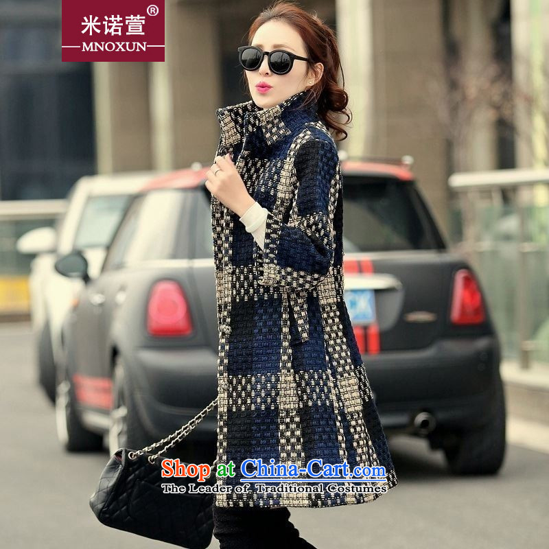 Mineau Xuan by 2015 autumn and winter in New Sau San long hair color picture K263# jacket? XL