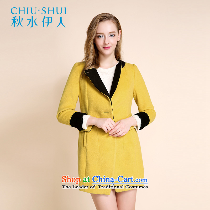 Chaplain who winter clothing New Women Korean fashion gross? coats, double-thin in the video length Sau San jacket, yellow�0_84A_M