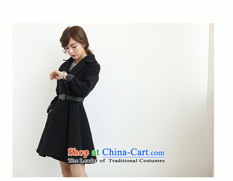 Miyamiya2015 autumn and winter new Korean Sau San cloak? jacket in gross long foutune petticoats gross a wool coat female gray聽M picture, prices, brand platters! The elections are supplied in the national character of distribution, so action, buy now enjoy more preferential! As soon as possible.