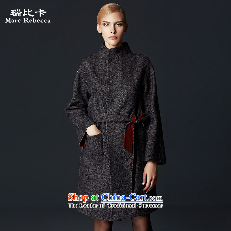 Labortex card brands woolen coat 2015 autumn and winter new manual two-sided wool coat carbonM?