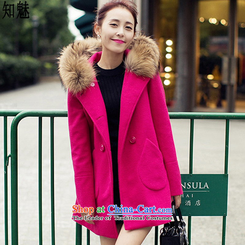 Aware of the new 2015 Autumn boxed fan gross is the goddess of double-overcoat 1810 better red with gross for燤 code