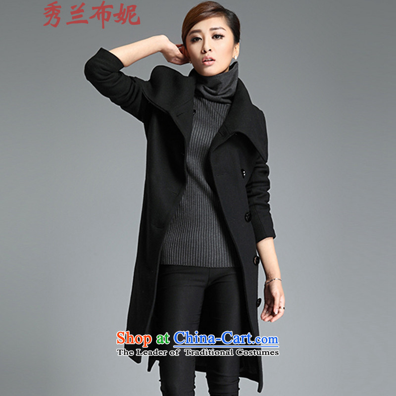Miss Cyd HO, Connie 2015 Fall/Winter Collections new coats, wool? long black L
