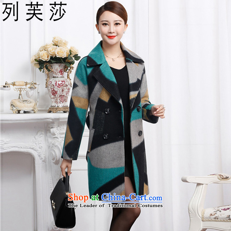 The list be Windsor gross? for winter coats women 2015 new Korean long thin graphics Sau San_? cloak large female pro wool coat�027 in gross? Long燲L