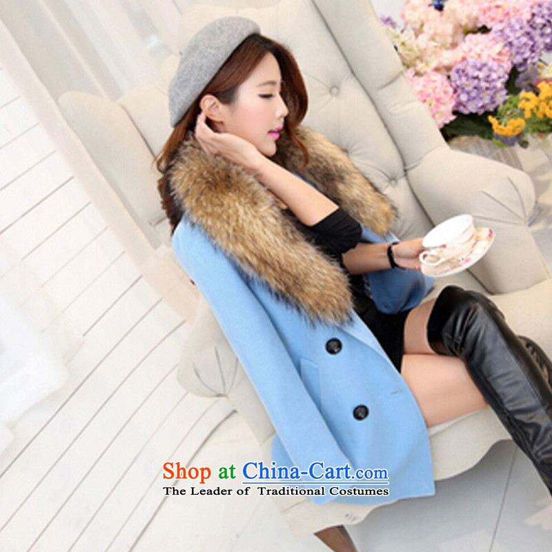 According to the Court, Ms. Wei Ling gross?�15 autumn and winter coats of Korean version of the new in Sau San for women so long coats�10爐eal燣