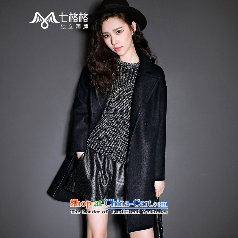 7 Huan?�15 winter coats gross New Marker-double-jacket? female Tibet gross cyan� S