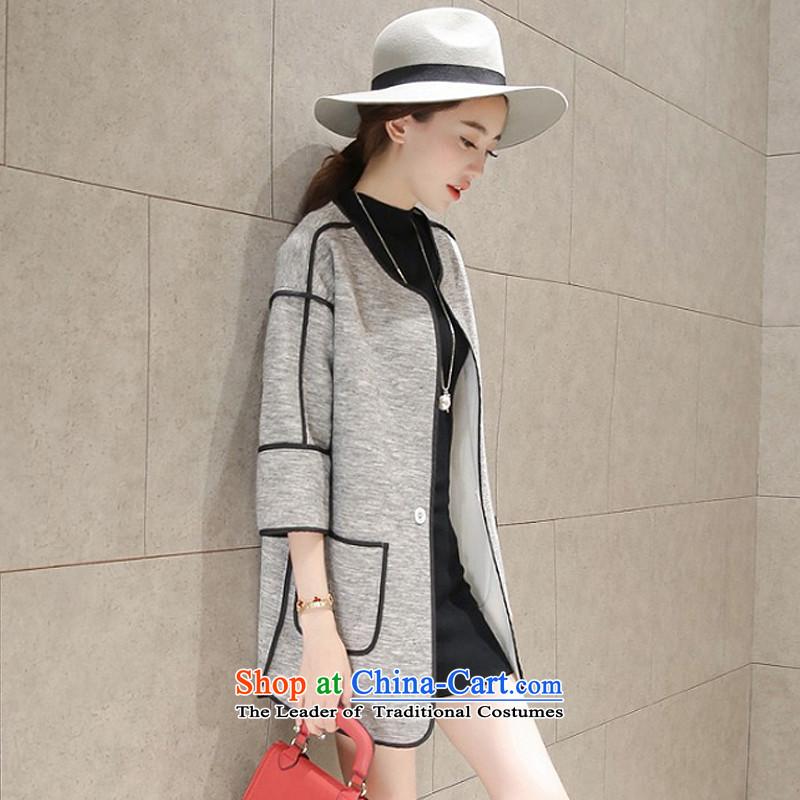 Yi Jin Sau San over the medium to longer term no. of coats gray NRJ5387 S code