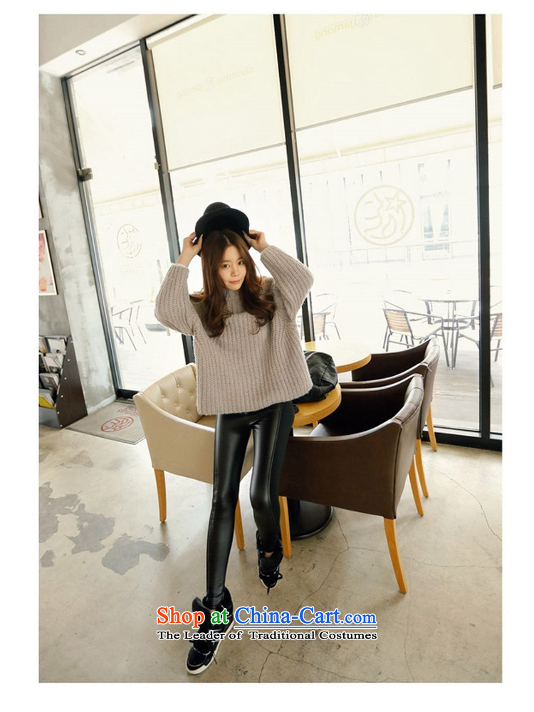 2015 Autumn and winter Zz&ff new Korean PU stitching elastic leather pants female thick MM THIN forming the video press the girl black XXXL( recommendations 140-160 characters catty) Picture, prices, brand platters! The elections are supplied in the national character of distribution, so action, buy now enjoy more preferential! As soon as possible.