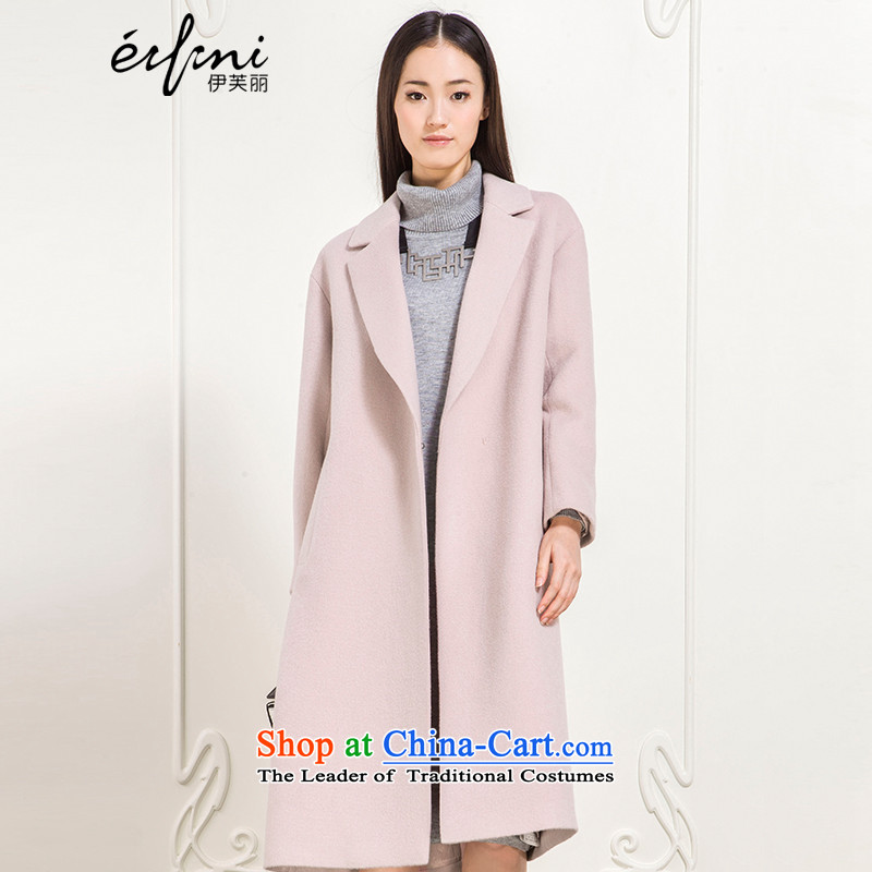 _pre-sale _-, Evelyn Lai 2015 winter clothing new lapel long hair? female autumn and winter coats wool coat female 6581017502? Gray Pink燩UERTORRICANS soot pre-sale _ 7 December of the remaining spot_