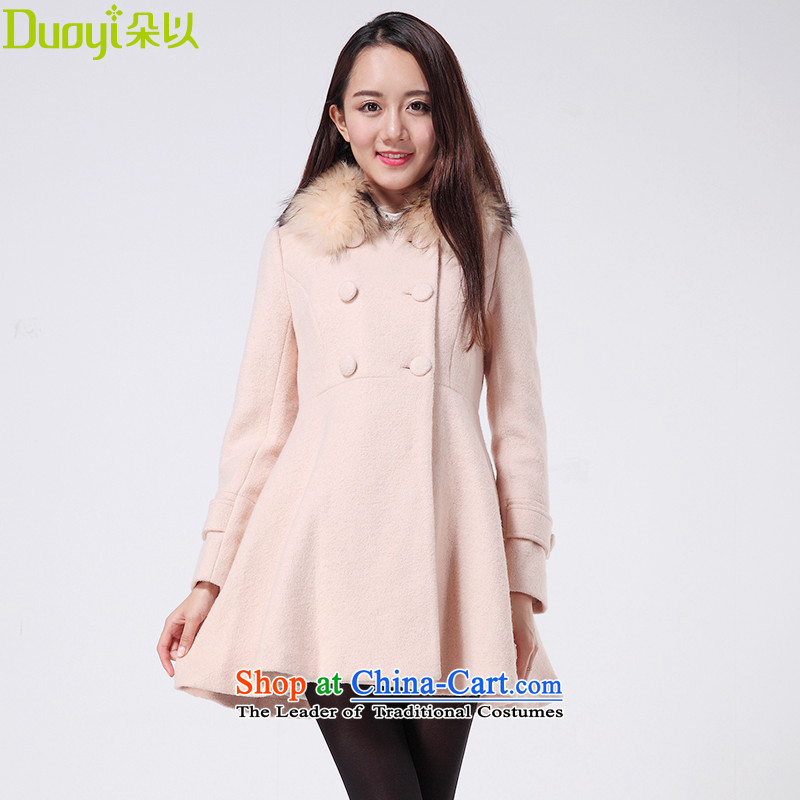 Flower In winter the new Korean version of Sau San video thin wool coat stylish gross for what a wool coat 29TD71571 light codes of all L do not take聽M